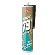 Dow Corning 791BLK 791 External Weatherproofing Silicone Sealant Black 310ml