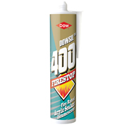 Dow Corning FIRE400WH Dow Corning Firestop 400 Intumescent Acrylic Sealant White 380ml