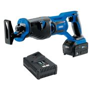 Draper 00593 Draper 593 20v D20 Brushless Reciprocating Saw with 1 x 3Ah Battery and Charger