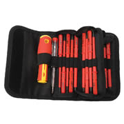 Draper 05776 Draper 18 Piece VDE Interchangeable Blade Screwdriver Set