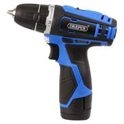 Draper 20846 10.8v Drill Driver with 1 x 1.5Ah Battery and Charger