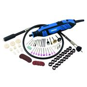Draper 58300 180W Rotary Multi Tool with 113 Piece Accessory Kit