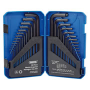 Draper 33894 Hex Key Set & Case 30 Piece