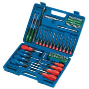 Draper 40850 Draper 70 Piece Screwdriver, Socket & Bit Set