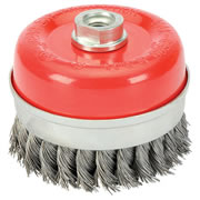 Draper 41450 (CB100TP) Draper 100mm Twist Knot Wire Cup Brush M14