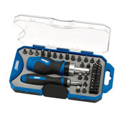 Draper 46479 42 Piece Ratchet Screwdriver Bit Set
