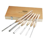 Draper  Draper HSS Woodturning Chisel Set (6 Piece)