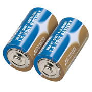 Draper 61835 (DLR14/HD) Draper C Heavy Duty Alkaline Batteries 2 Pack