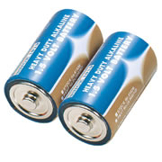 Draper 61836 (DLR20/HD) Draper D Heavy Duty Alkaline Batteries 2 Pack
