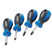 Draper 63567 Stubby Screwdriver 4 Piece Set