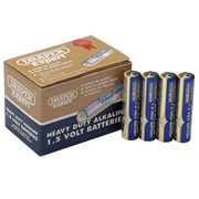 Draper 64247 (DLR03/HD24) Draper AAA Heavy Duty Alkaline Batteries 24 Pack