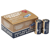 Draper 64249 (DLR14/HD12) Draper C Heavy Duty Alkaline Batteries 12 Pack
