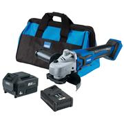 Draper 70368 Draper 70368 20V D20 115mm Brushless Grinder with 1 x 4Ah Battery, Charger and Bag