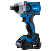 Draper 86958 Draper 86958 20v D20 Brushless Impact Driver with 2 x 2Ah Batteries and Charger
