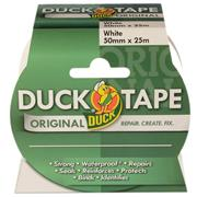 Duck Tape 211117 Duck Tape Original White 50mm x 25m