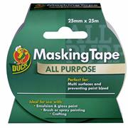 Duck Tape 232316 Duck Tape All Purpose Masking 25mm x 25m