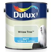 Dulux  Dulux Matt Willow Tree Blue Paint (2.5 Litre)