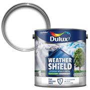 Dulux  Dulux Weathershield Pure Briliant White Quick Drying Undercoat Paint (2.5 Litre)