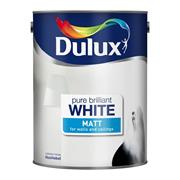 Dulux  Dulux Pure Brilliant White Rich Matt Paint (3 Litre)