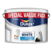 Dulux  Dulux Pure Brilliant White Rich Matt Paint (7 Litre)