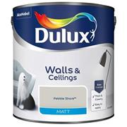 Dulux  Dulux Matt Pebble Shore Grey Paint (2.5 Litre)