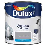 Dulux  Dulux Matt Warm Pewter Grey Paint (2.5 Litre)