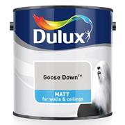 Dulux  Dulux Matt Goose Down Grey Paint (2.5 Litre)