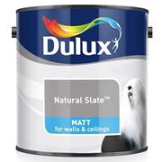 Dulux  Dulux Matt Natural Slate Grey Paint (2.5 Litre)