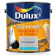Dulux  Dulux Easycare Washable & Tough Matt Chic Shadow Grey Paint (2.5 Litre)