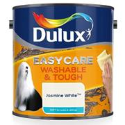 Dulux  Dulux Easycare Washable & Tough Matt Jasmine White Paint (2.5 Litre)