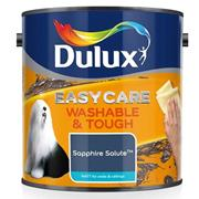 Dulux  Dulux Easycare Washable & Tough Matt Sapphire Salute Blue Paint (2.5 Litre)