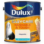 Dulux  Dulux Easycare Washable & Tough Matt Magnolia Cream Paint (2.5 Litre)