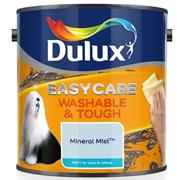 Dulux  Dulux Easycare Washable & Tough Matt Mineral Mist Blue Paint (2.5 Litre)