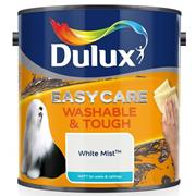 Dulux  Dulux Easycare Washable & Tough Matt White Mist Paint (2.5 Litre)