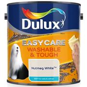 Dulux  Dulux Easycare Washable & Tough Matt Nutmeg White Paint (2.5 Litre)