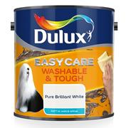 Dulux  Dulux Easycare Washable & Tough Matt White Paint (2.5 Litre)