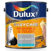 Dulux  Dulux Easycare Washable & Tough Matt Warm Pewter Grey Paint (2.5 Litre)