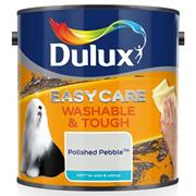 Dulux  Dulux Easycare Washable & Tough Matt Polished Pebble White Paint (2.5 Litre)