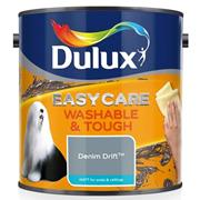 Dulux  Dulux Easycare Washable & Tough Matt Denim Drift Blue Paint (2.5 Litre)
