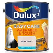 Dulux  Dulux Easycare Washable & Tough Matt Blush Pink Paint (2.5 Litre)