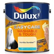 Dulux  Dulux Easycare Washable & Tough Vanilla Sundae Cream Paint (2.5 Litre)