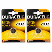 Duracell DL2032 CR2032 Duracell DL2032/CR2032 Electronics Battery Twinpack