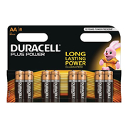 Duracell MN1500B8PP Duracell Ultra Plus Power AA Batteries Pack of 8
