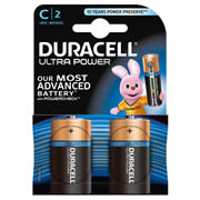 Duracell MX1400B2 Duracell Ultra Power C Batteries Pack of 2