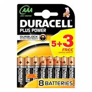 Duracell S67745 5 + 3 AAA Battery Pack