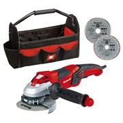 Einhell  Einhell TE-AG 125mm 240V Angle Grinder Kit, wth Tote & 2 Blades