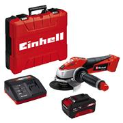 Einhell TE-AG 18/115 Li Kit (1x3,0Ah) 18V 115mm Angle Grinder With 1x 3Ah Battery