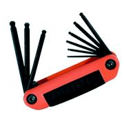 Eklind REK25919 Eklind Imperial Ball-End Ergo-Fold 9 Piece Hex Key Set