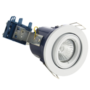 Electralite ELA-27465-WHT Electralite Fire Rated Downlight White - Fixed