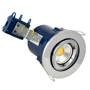 Electralite ELA-27466-CHR Electralite Fire Rated Downlight Chrome - Adjustable
